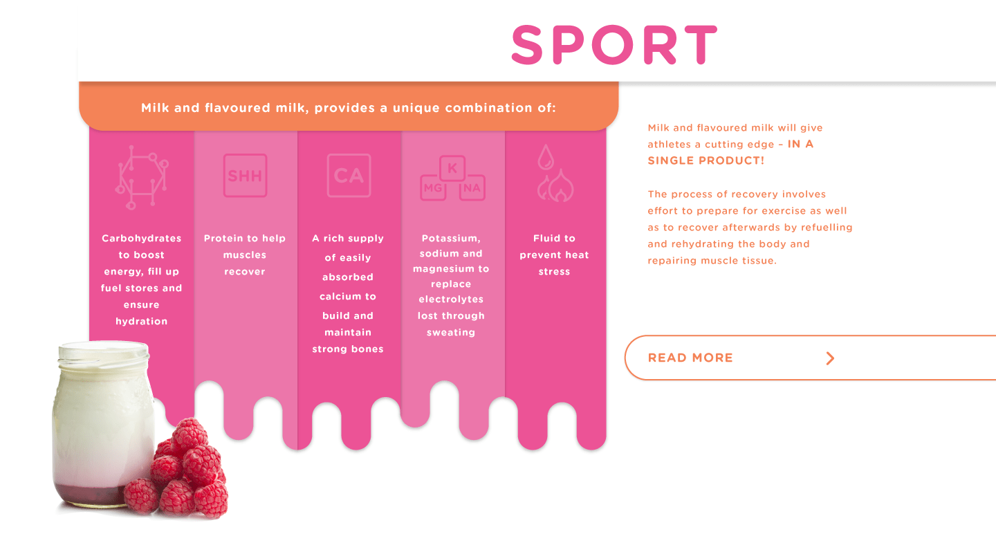 The benefits of dairy — Sport